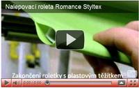 nalepovací roletka romance styltex