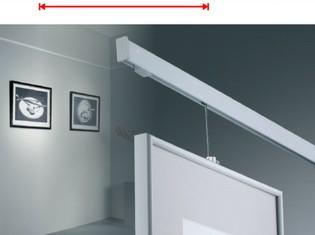 hliníková lišta pro zavěšení obrazů al250 bm1