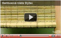 bambusové rolety styltex
