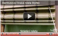 bambusové římské rolety styltex