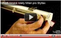 profil římské rolety miláno