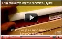 pvc minikazeta styltex