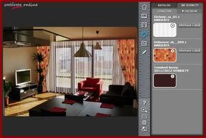 3d místnost - barvy